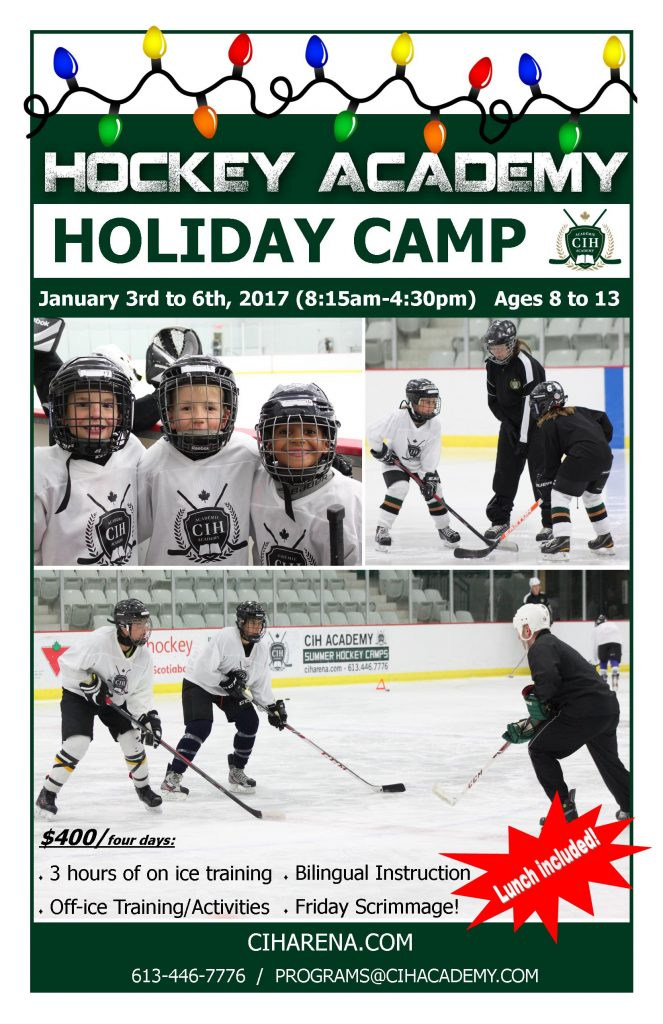 2017 Holiday Hockey Camp
